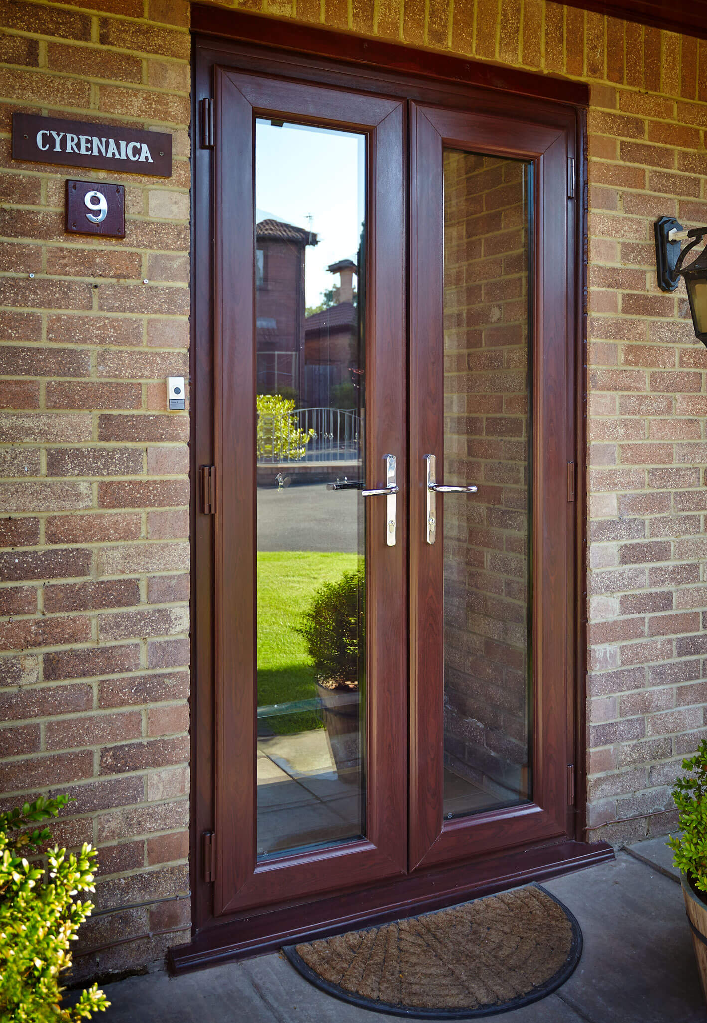 Woodgrain French Doors Hereford