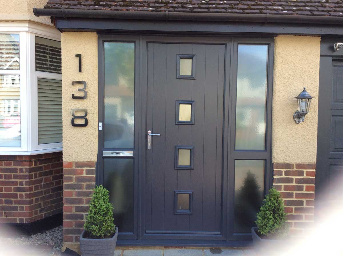 Composite Entrance Doors Supplied Hereford