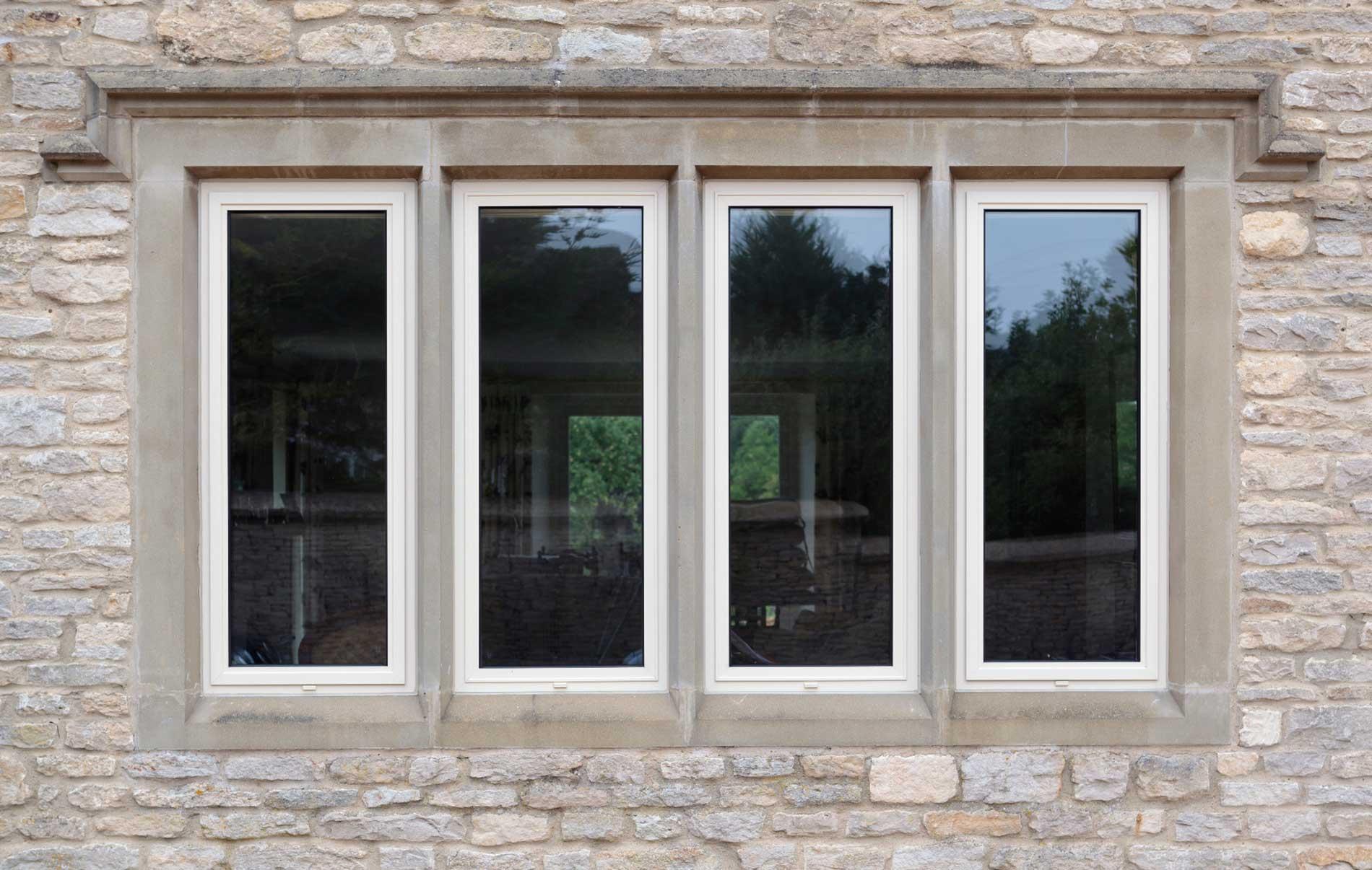 Supply Only Slimline Aluminium Window Hereford