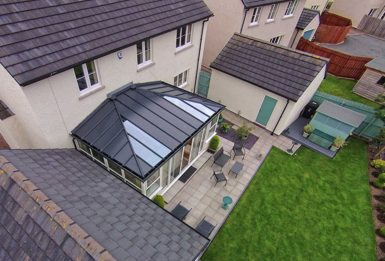 Solid Conservatory Roof Costs Hereford