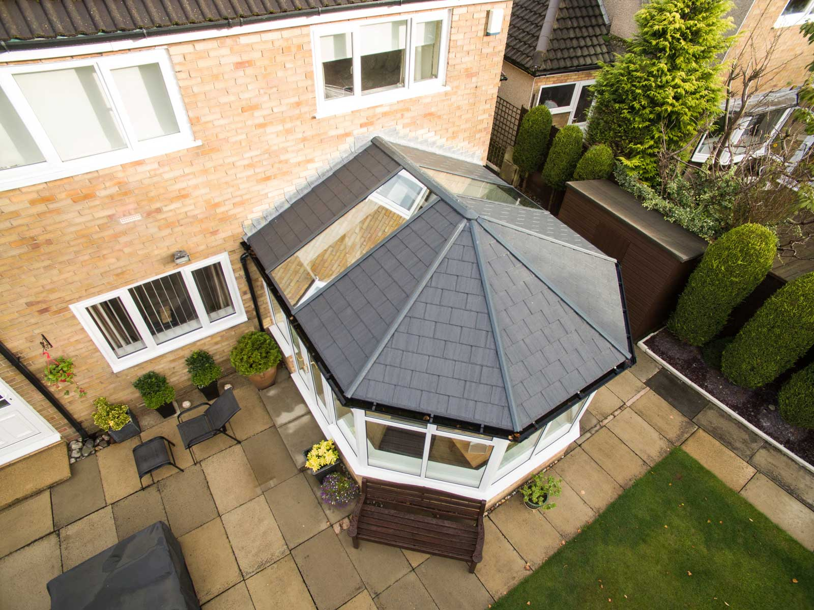 Ultraframe Tiled Conservatory Roofs Hereford